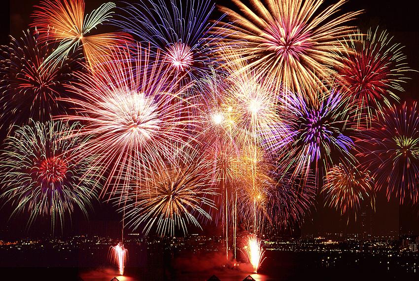 毎年開催されるびわ湖花火大会