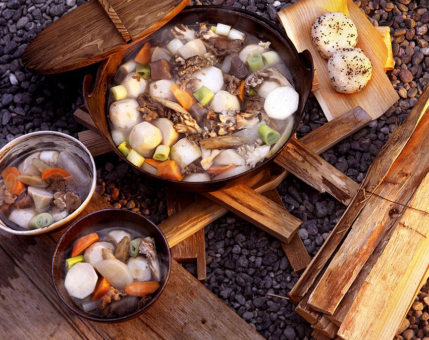 山形の郷土料理の芋煮