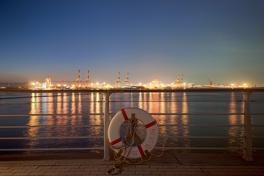 大阪湾の夜景は実はきれい