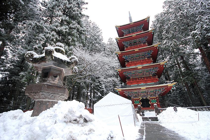 冬の日光東照宮