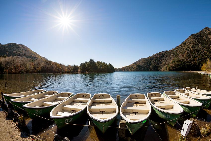 ボートでお散歩