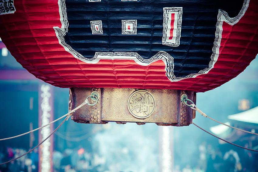 大きな赤提灯は浅草の象徴
