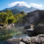 雄大な大自然と調和する、心休まるのどかな温泉地