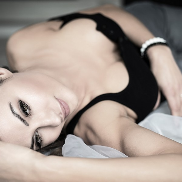 Lying on the Bed