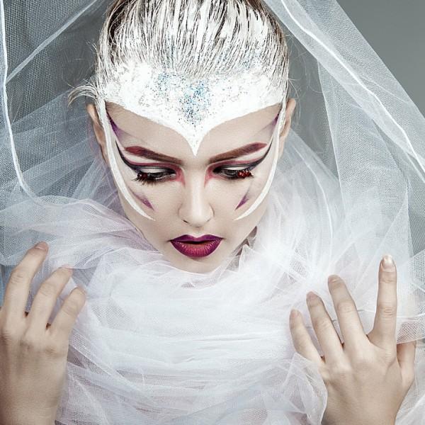 The female performer