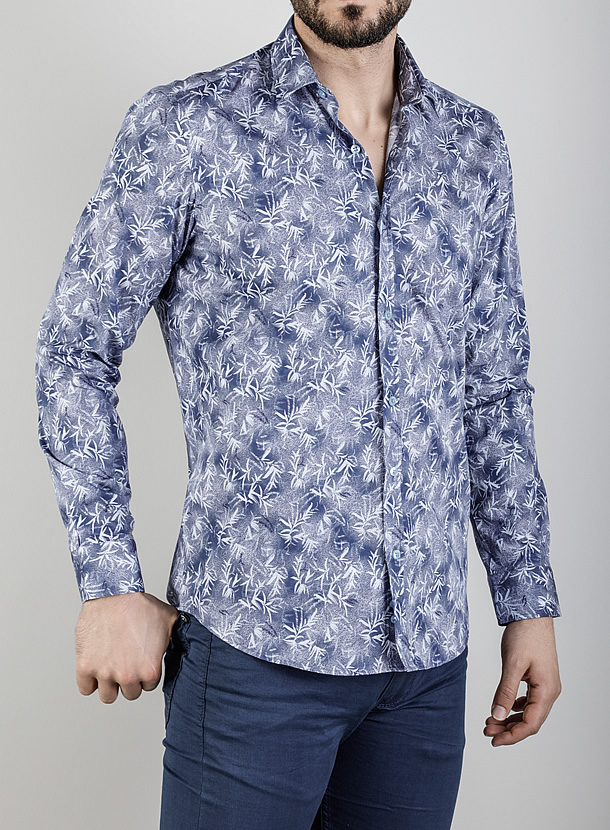 パターンシャツ
